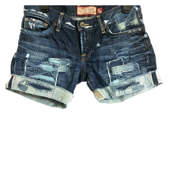 Lucky Brand Pants - Lucky Brand Riley Boyfriend Legend Shorts Size 2